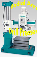 Radial Arm Drill Press logo